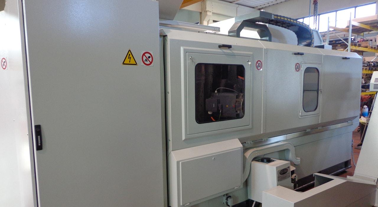 Tornio fresa ML 720 - Dopo